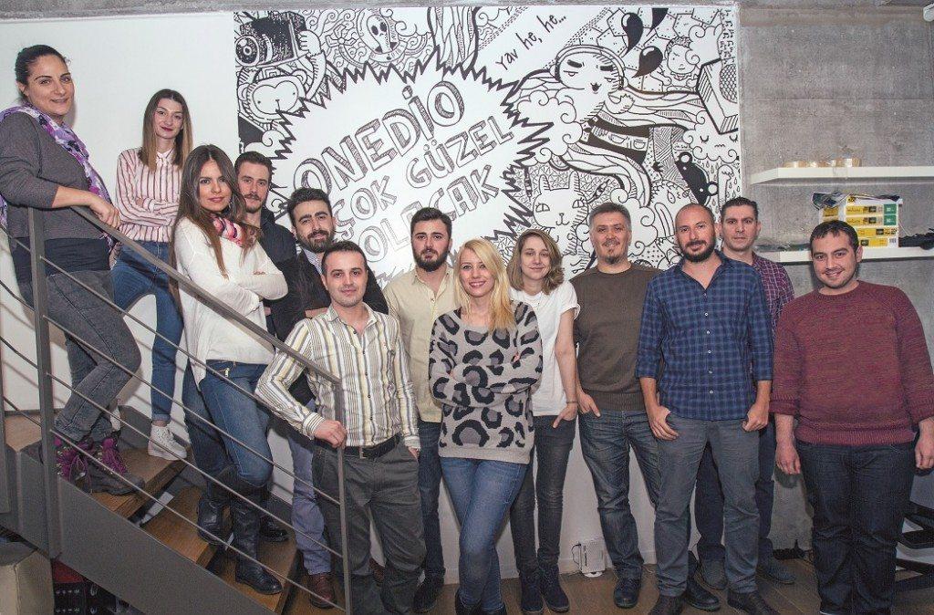 Onedio İstanbul ekibi