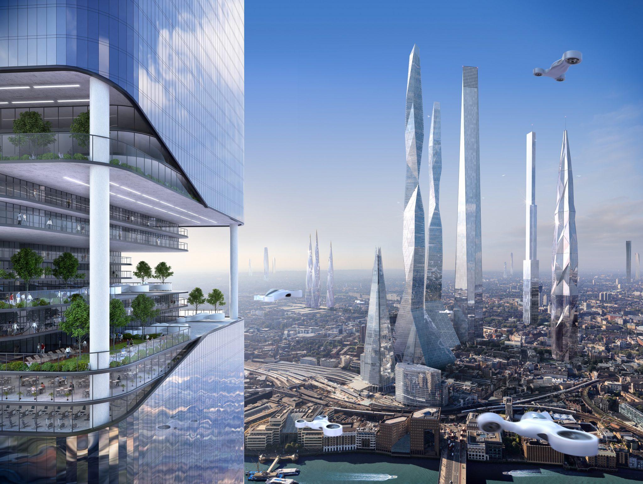 future architecture cities - HD1200×904