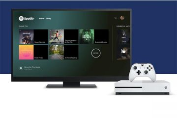 Spotify Xbox One uygulaması
