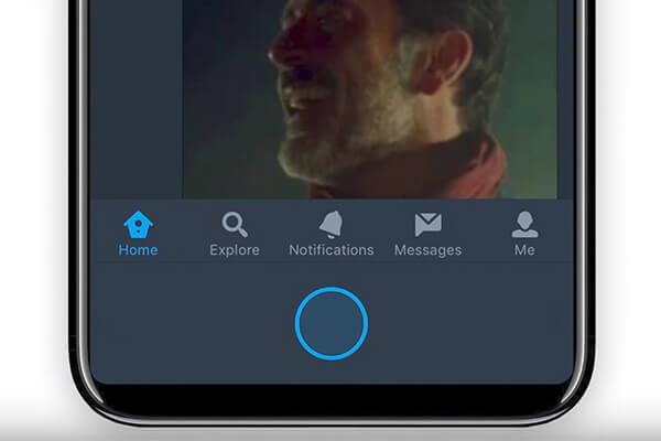 iPhone 8 sanal ana ekran tuşu