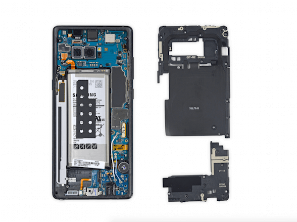 Samsung Galaxy Note 8 iFixit