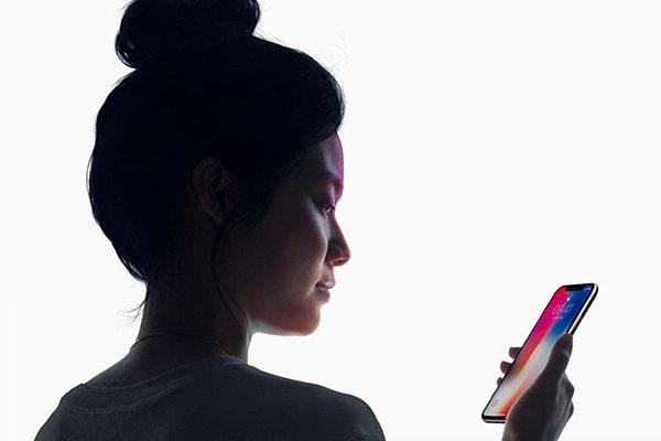FaceID iPhoneX