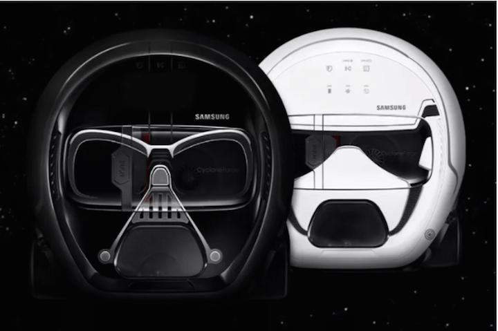 Darth Vader süpürge