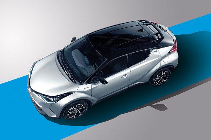 Hibrit otomobiller Toyota C-HR