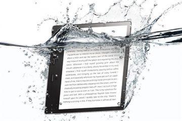 Amazon, su geçirmeyen Kindle çıkardı