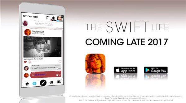 Taylor Swift kendi uygulamasını çıkarıyor