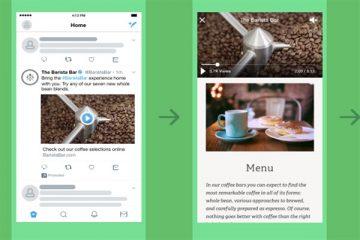 Twitter'dan yeni format: Video Web Sitesi Kartı