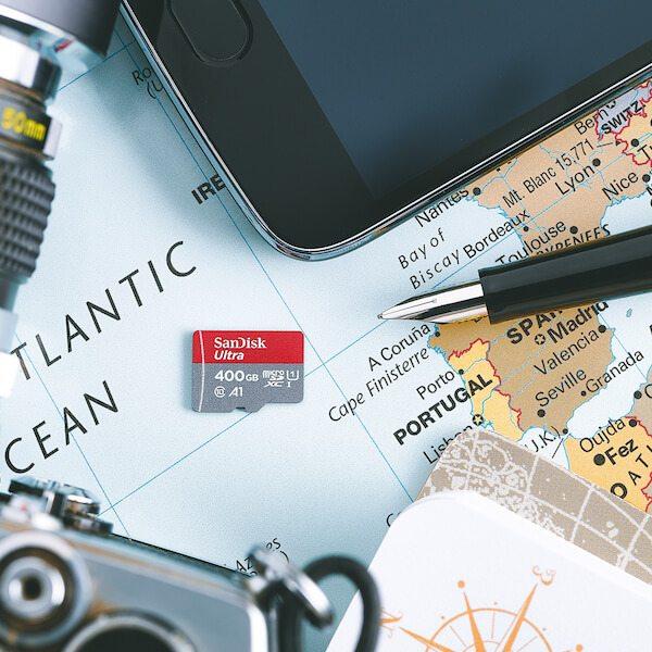 400GB SanDisk Ultra microSDXC UHS-I