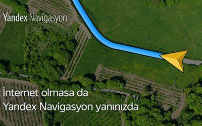 çevrimdışı navigasyon yandex