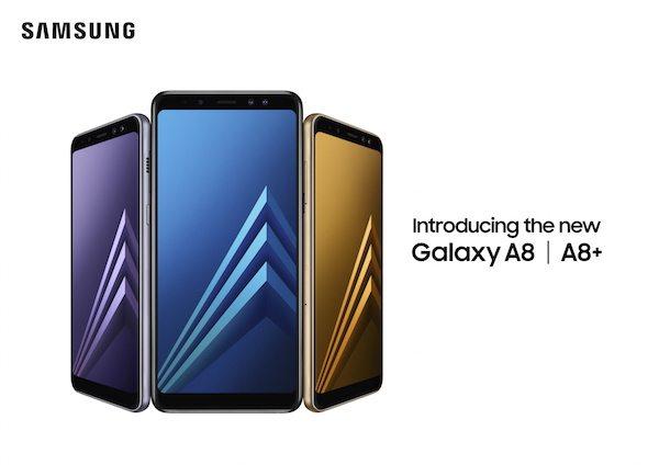 Samsung, Galaxy A8 ve Galaxy A8+ modellerini tanıttı